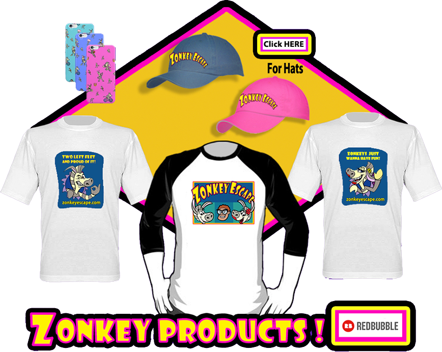 Zonkey Escape Products